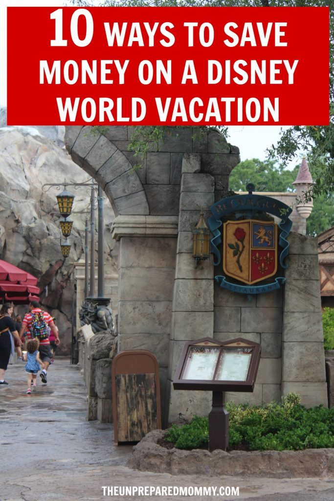 Disney World can be expensive if you don't plan for it. Use these 10 ways to save on a Disney World vacation and have a magical time. #disney #vacation #summer #kids