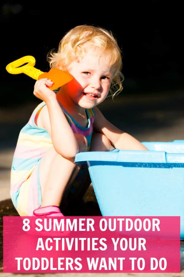 These summer activities for toddlers are sure to keep them entertain this summer. #summer #crafts #kidsactivities #kidscrafts #kids