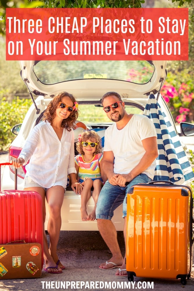 When you want to save money on your summer family vacation, plan to stay at one of these places. #summer #vacation #family