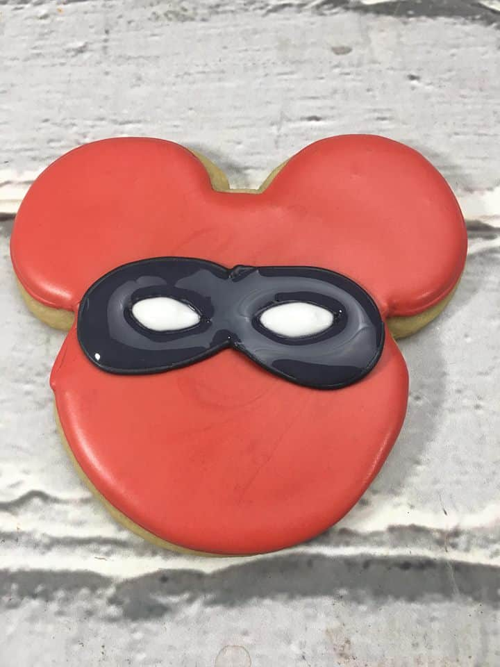 Incredibles Mickey Mouse cookies