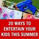 20 Entertaining Summer Crafts for Kids