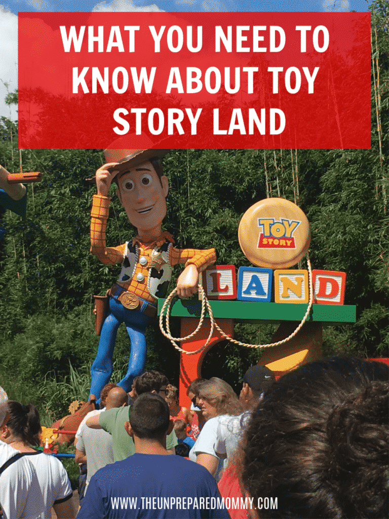 Learn about the new and awesome Toy Story Land in Disney World's Hollywood Studios. You will be itching to go visit afterwards! #disney #disneyworld #hollywoodstudios #toystoryland