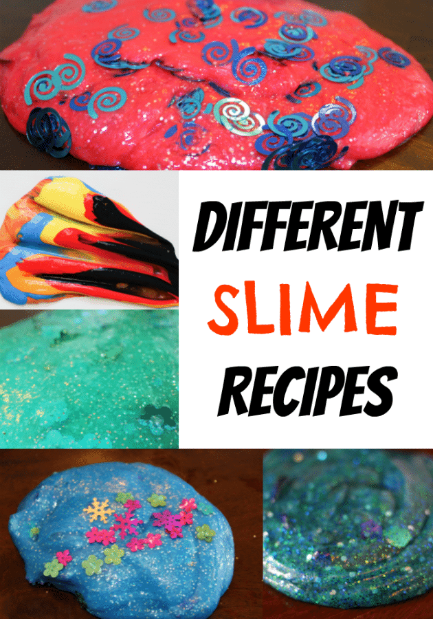 Learn how to make slime with all of these different slime recipes. #slime #disneyslime #disney