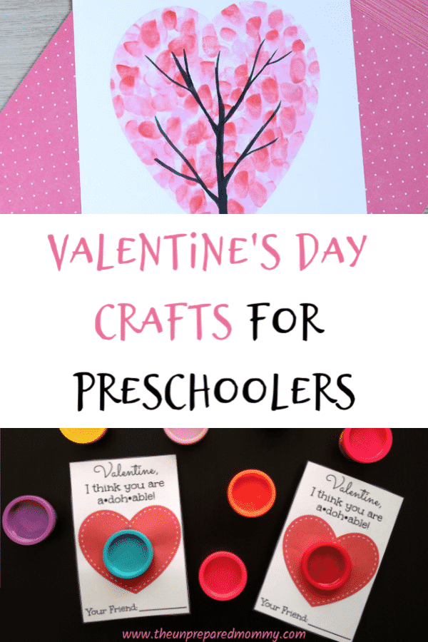 This collection of Valentine's Day crafts for preschoolers is sure to create wonderful Valentine's Day keepsakes and memories! #valentinesday #kidscrafts